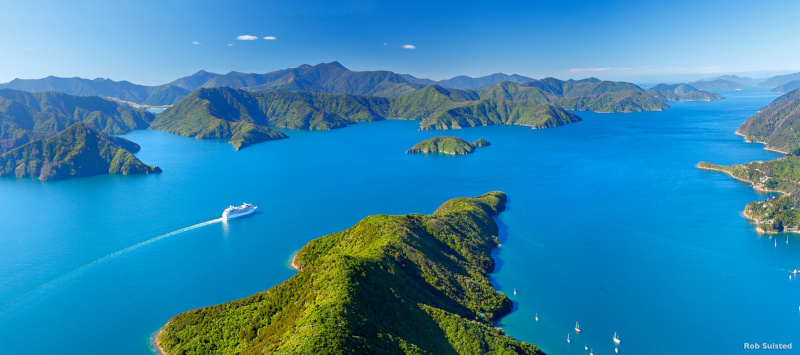 Marlborough Sounds has it all. (Credit: Rob Suisted)