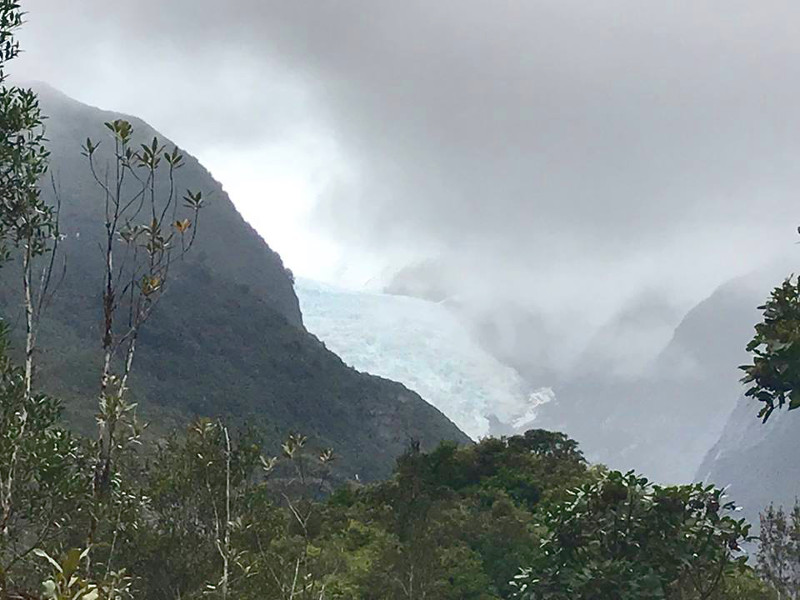 view of Franz Josef glacier