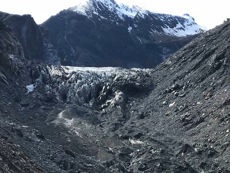 view of Fox Glacier