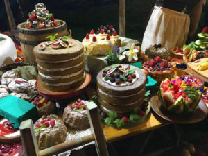 Feast of food at international hobbits day