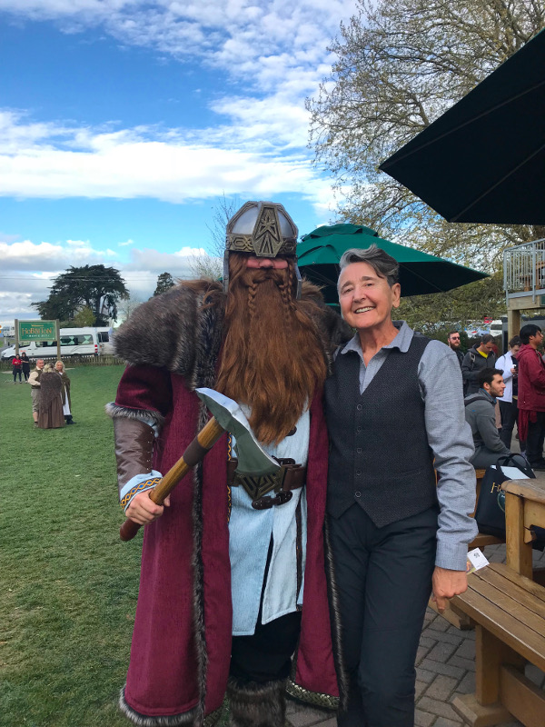 Mary at International Hobbits Day