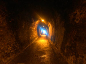 Old gold mining tunnels